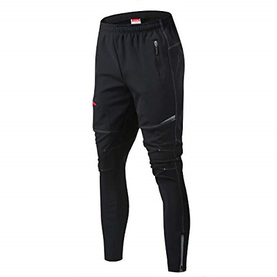 JOGVELO Mtb Pants Mens, Cycling Trousers Reflective Thermal Waterproof For And L • 38.05£