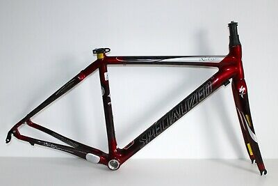SPECIALIZED RUBY PRO CARBON FRAME ROAD BIKE RACING SIZE 51cm ENGLISH THREADED * • 199.99£
