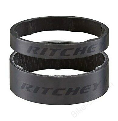 Ritchey WCS Headset Spacer 1.1/8 , UD-Carbon- Matt, 5mm / 10mm • 4.75£