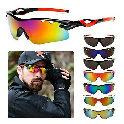 Bicycle Glasses Outdoor Sunglasses Outdoor Sports Fishing Driving Glasses UK   • 4.29£