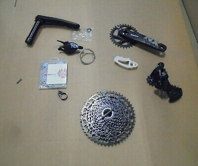 SRAM NX Eagle DUB 12sp Groupset 170MM 32T 11-50T BLACK - • 165£