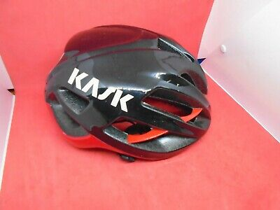 Kask Protone Road Helmet Medium BLACK/RED [ • 38.12£