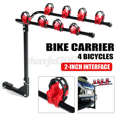 4 Bike Carrier Universal Car Rear Boot Mounted Holder Cycle Bicycle Rack • 53.99£