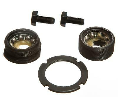 BOTTOM BRACKET BEARINGS CUPS & LOCKNUT With NUTS For BIKE BICYCLE New • 5.99£