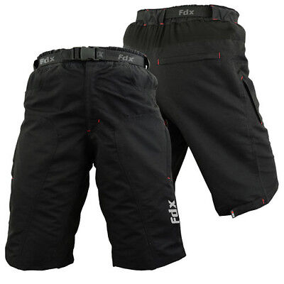 MTB Cycling Short Off Road Cycle With Clickfast Inner Liner CoolMax Padded Short • 26.99£