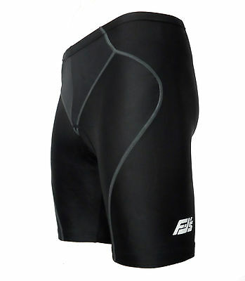 Mens Gel Padded Quality Cycle Cycling Bike Shorts Anti-bac Gel Pad Size Choice  • 13.95£