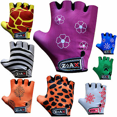 Kids Cycling Padded Gloves Bicycle Cycle BMX Gloves Children Youths Junior  • 4.99£