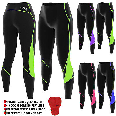 Ladies Cycling Tights Padded Women Legging Cycle Trousers Cold Wear Pants  • 14.99£