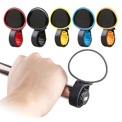 Bike Bicycle Cycling Rear View Safety Mirror Bar End Handbar Road Multicolor • 4.29£