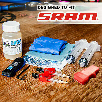 BRR Brake Bleed Kit For SRAM - DB5, Guide, R, RS, Ultimate, XX, X0, Level, S-700 • 21.85£