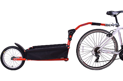 Pet Carry Angel Bicycle Steel Storage Cargo Basket Tow Trailer Red 20  Wheel • 189.99£