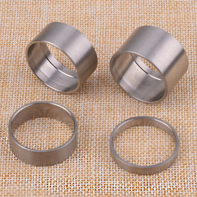 4 X Titanium Alloy 5/10/15/20mm Spacer Bicycle Bike Headset Spacer Front Stem • 7.78£