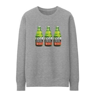 Bike Ninja CX Rider Drinker Sweatshirt - Cycling Cyclocross • 25£