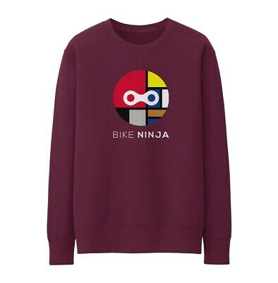 Bike Ninja Look A Mondrian Sweatshirt - Cycling Road • 25£