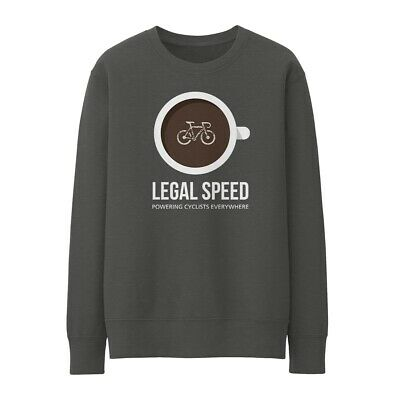 Bike Ninja Legal Speed Sweatshirt - Cycling Coffee • 25£