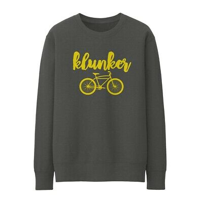Bike Ninja Klunker Sweatshirt - Cycling Retro Ride • 25£