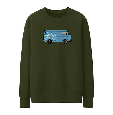 Bike Ninja T25 Van Blue Sweatshirt - Cycling • 25£