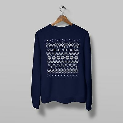 Christmas Jumper - Bike Ninja - Cycling • 25£