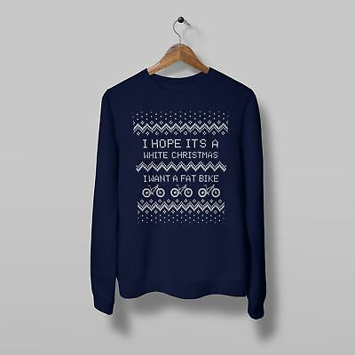Christmas Jumper - White Christmas - Fat Bike Bike Ninja • 25£