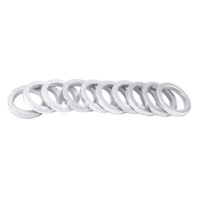 10 Count Aluminum Alloy Bike Spacer Headset Washer Chainring Gasket 12mm OD. • 3.01£