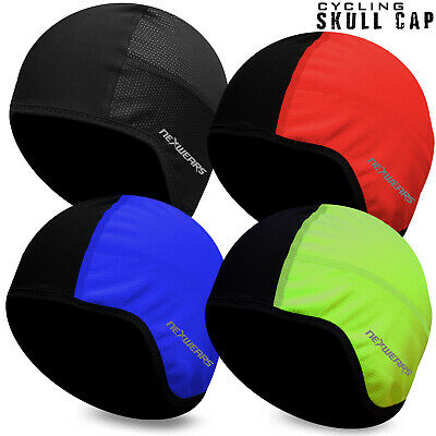 Cycling Skull Cap Winter Under Helmet Cycle Windstopper Thermal One Size Fit All • 3.99£