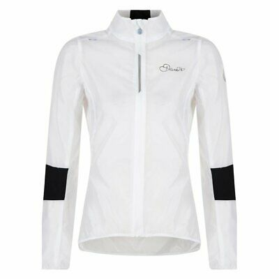 Dare2b AEP On The Rivet Women's Lightweight Windproof Cycle Jacket White RRP £50 • 9.99£