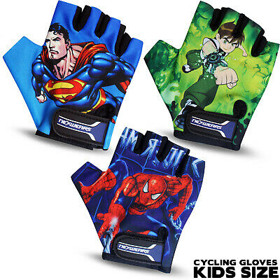 New Junior Kids & Girls Cycling Gloves Padded Bicycle Cycle BMX Gloves Children  • 3.99£