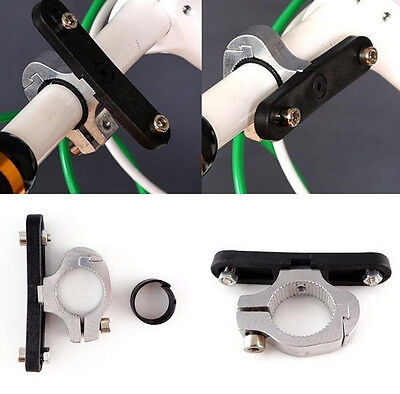 Bike Bicycle Cycling Water Bottle Cup Cage Mount Holder Handlebar Clamp Base • 5.79£