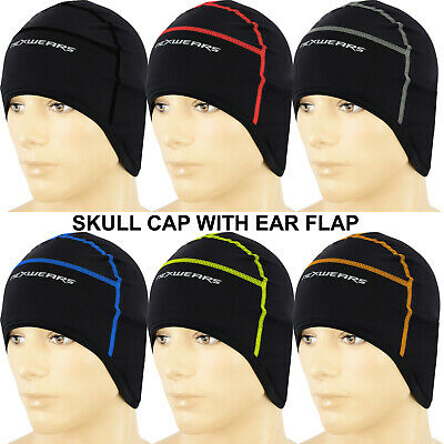 Cycling Skull Cap Winter Thermal Under Helmet Cycle Roubaix One Size Fit All • 3.99£