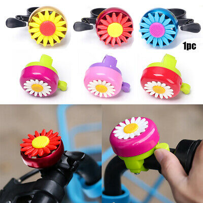 Funny Bicycle Bell Horns Bike Daisy Flower Children Girls Cycling Ring Alarm. • 2.87£