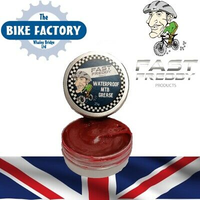 MTB Grease – Fast Freddy – Lithium Grease With Teflon – 25g • 4.99£