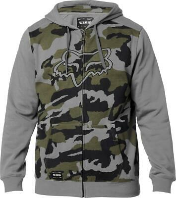 Fox Destrakt Zip Fleece Hoodie Camo • 39.99£