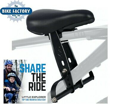 CHILD SEAT Little Explorer Top Tube Bicycle Child Seat For Bike - Fast P&P • 59.99£