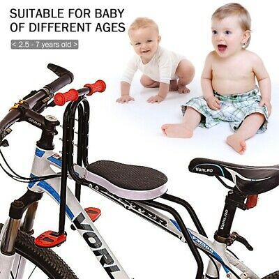 Safety Child Baby Kids Bike Bicycle Cycle Seat Front Carrier With Handrail  • 42.99£