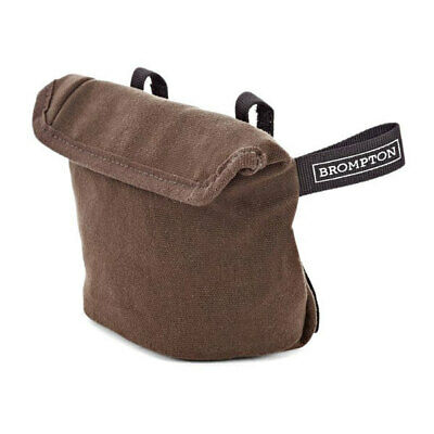 Brompton Saddle Pouch Bag In Waxed Canvas-E-Bay Global Shipping Available • 12£