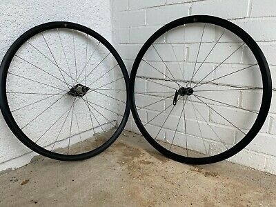 Lightweight Hand Built Rim Brake Wheelset - Ambrosio, Bitex, Shimano Compatible • 170£