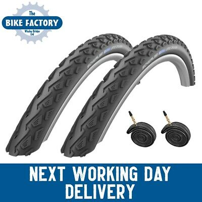 Schwalbe Land Cruiser 26x1.75Tyres (Pair) - Tubes Option - FAST SHIPPING ! • 49.99£