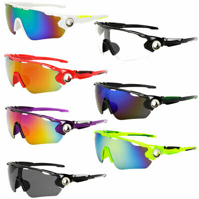 Unisex Outdoor Cycling Bike Running Sunglasses UV400 Lens Goggle Glasses Eyewear • 4.27£