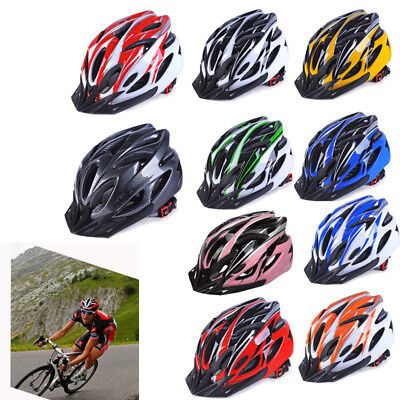 Unisex MTB Bicycle Sports Safety Breathable Helmet Road Cycling Mountain Bike • 18.99£