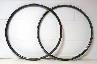 WOLBER TX Profil Hard Anodised Clincher Rims Pair   700c   36h   Made In France • 49.99£