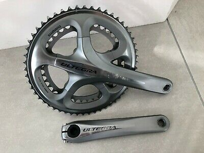 Shimano Ultegra - FC6700 - 53/39 - Crankset / Chainset - 10 Speed 175mm • 11.50£