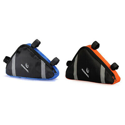Waterproof Triangle MTB Cycling Bicycle Bike Front Frame Pouch Saddle Bag • 6.25£