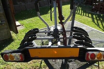 WITTER ZX300 Towball Mounted 3-Bike Rack • 80£