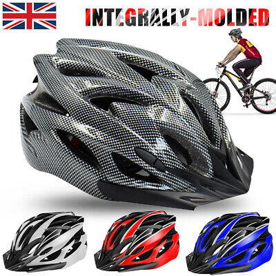 Protective Mens Adult Road Cycling Safety Helmet MTB Mountain Bike Bicycle Cycle • 10.99£