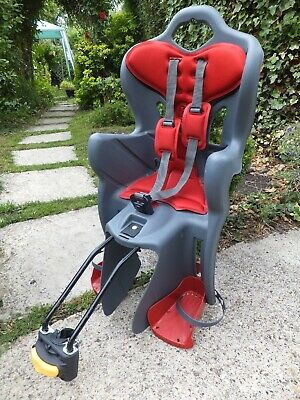 Child Bike Seat Sturdy Fully Adjustable Good Clean Condition 22kg • 22.99£