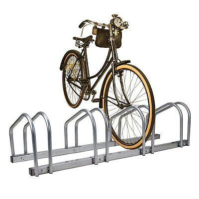Cycle Bike Steel Pipe Parking Stand Rack (2, 3, 4 & 5 ) Floor Wall Mount Storage • 19.49£