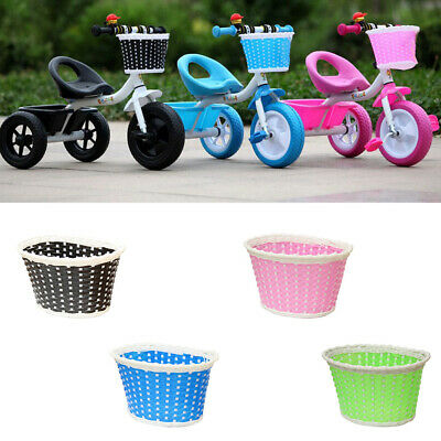 Girls Bicycle Front Basket Flower/shopping Childs/childrens/kids Bike/cycle • 4.27£