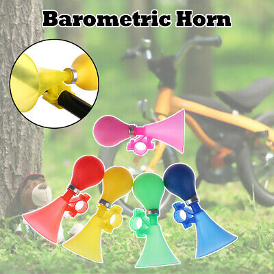1 PCS Kids Bike Bicycle Cycling Air Horn Honking Hooter Squeeze Bike Bells Great • 3.99£