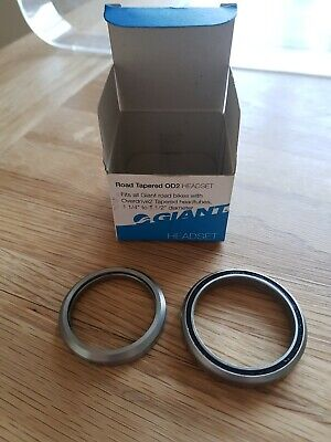 Giant OD2 Headset Bearings. Overdrive2 Upper And Lower  1 1/4  1 1/2 Tapered... • 10.40£