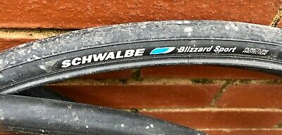 4x Schwalbe Blizzard Sport Puncture Protection 700x23C Tyres - Some Inner Tubes. • 19.99£